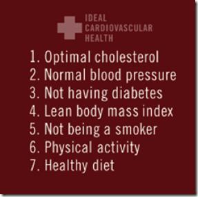 7 Factors for Cardio Health