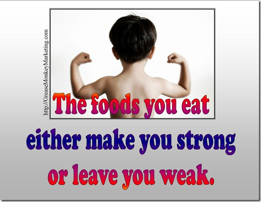 Food strong or weak