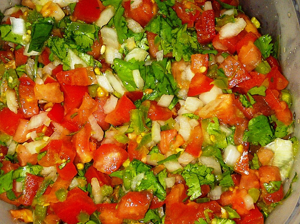 Pico de Gallo–Our weekly version | Healthy Grease Monkey