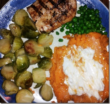 Feel Good Fast - Full Dinner Plate
