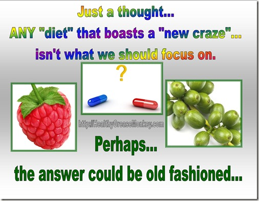New Craze Diets - Feel Good Fast