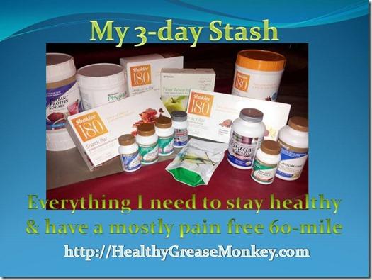HealthyGreaseMonkey 3-Day Nourishment