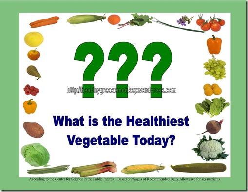 Healthiest Veggie