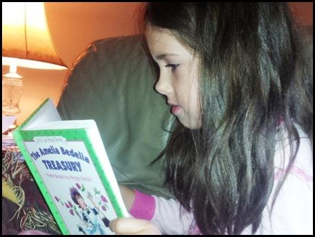 Reading child