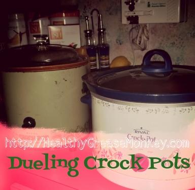 Dueling Crock Pots