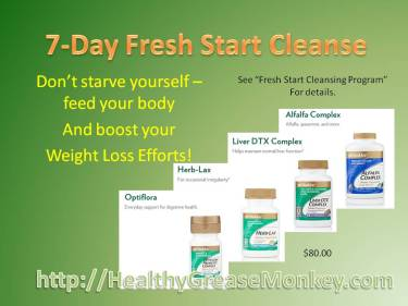 Fresh Start supplements