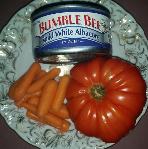 Tuna-Tomato Ingredients