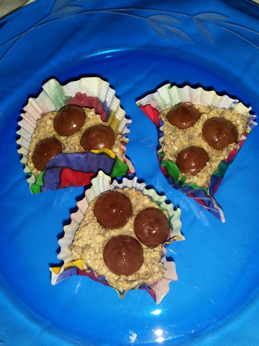 Pumpkin protein Bites image